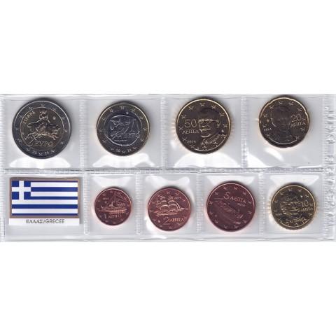 2014. Tira euros Grecia