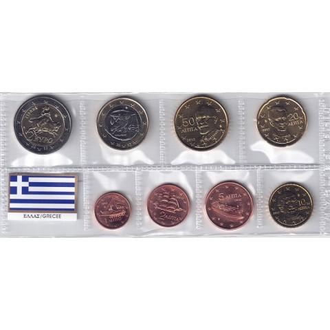 2012. Tira euros Grecia