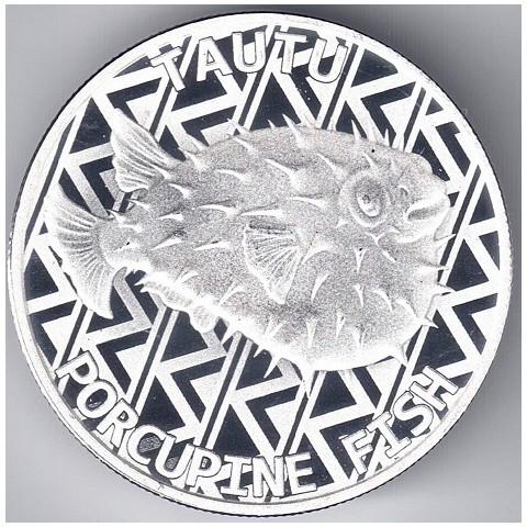 2021. Onza Tokelau. Puercoespín