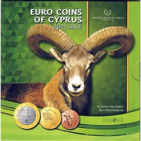 2021. Cartera euros Chipre