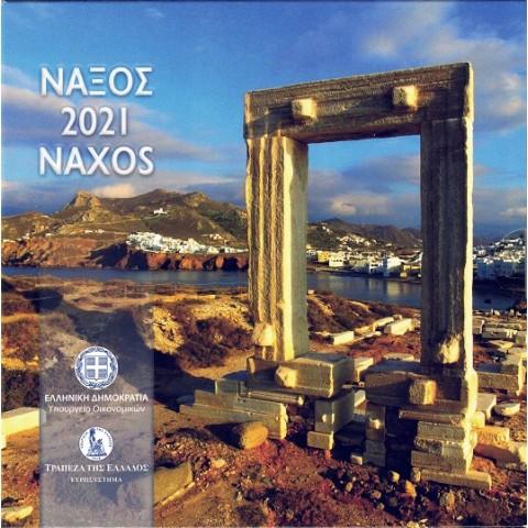 2021. Cartera euros Grecia