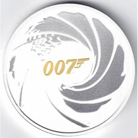 2021. Onza Tuvalu. James Bond