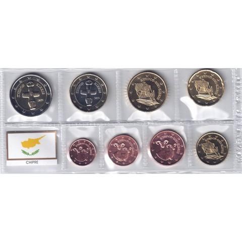 2021. Tira euros Chipre