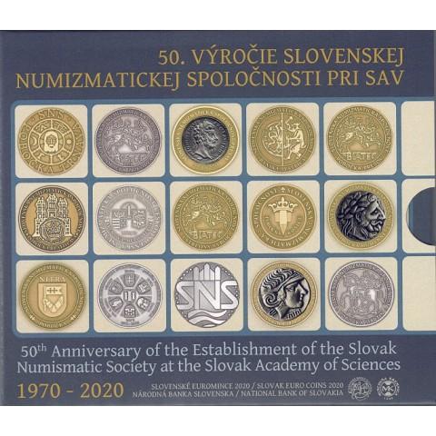 2020. Cartera euros Eslovaquia