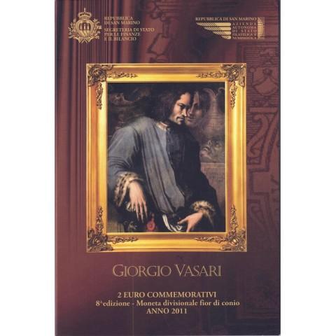 "2011. 2 Euros San Marino ""Vasari"""