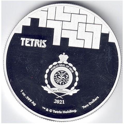 2021. Onza Niue. Tetris