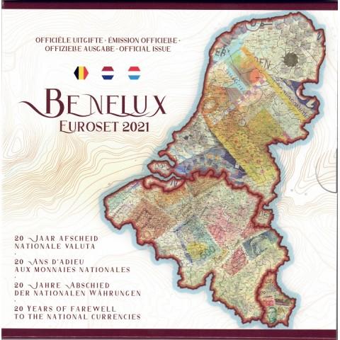 2021. Cartera euros Benelux