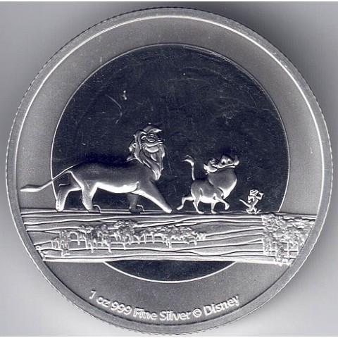 2021. Onza Niue. Rey León