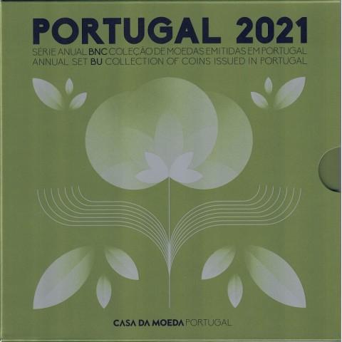 2021. Cartera euros Portugal