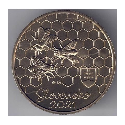 "2021. 5 Euros Eslovaquia ""Abeja"""