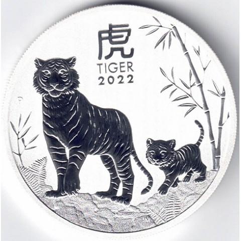 2022. Onza Australia. Calendario Tigre