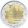 "2010. 2 Euros Alemania A-Berlín ""Bremen"""