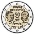 """2013. 2 Euros Alemania A-Berlin """"Tratado"""""""