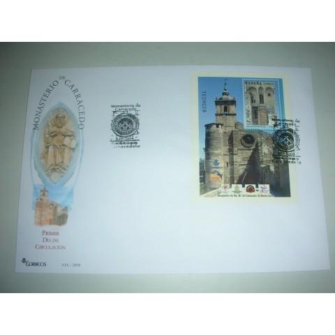 2004. Sobre matasellos Monasterio Carracedo