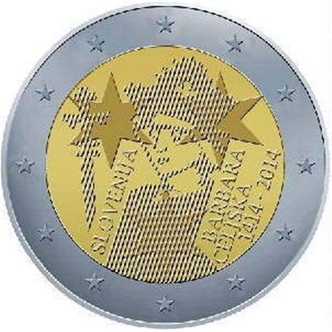 """2014. 2 Euros Eslovenia """"Celje"""""""