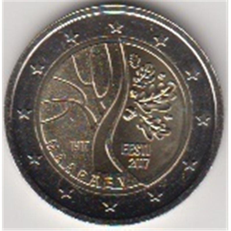 """2017. 2 Euros Estonia """"Independencia"""""""