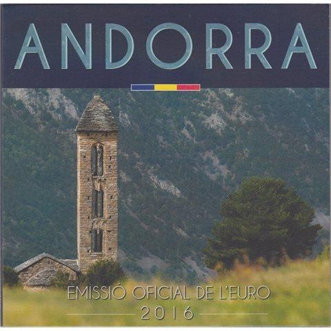 2016. Cartera euros Andorra