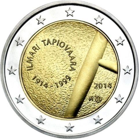 "2014. 2 Euros Finlandia ""Tapiovaara"""