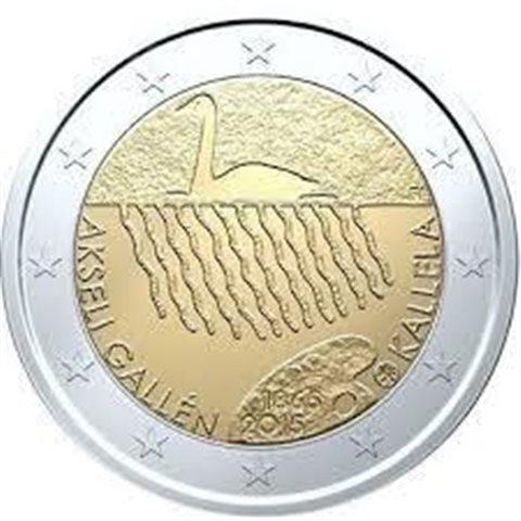 "2015. 2 Euros Finlandia ""Gallen-Kallela"""