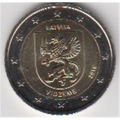"""2016. 2 Euros Letonia """"Vidzeme"""""""