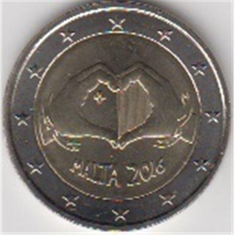 "2016. 2 Euros Malta ""Amor"""