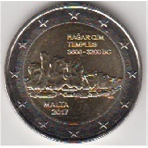 """2017. 2 Euros Malta """"Templos"""""""