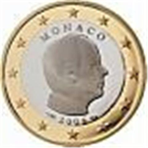 """2009. 2 Euros Mónaco """"Alberto II"""""""