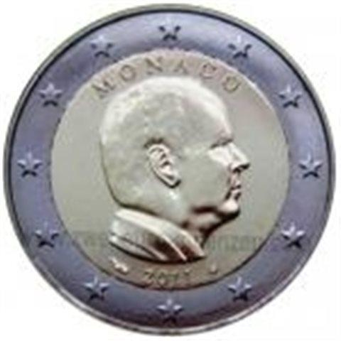"""2011. 2 Euros Mónaco """"Alberto"""""""