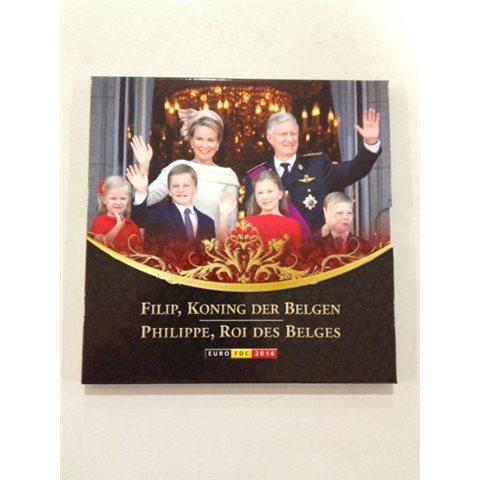 2014. Cartera euros Bélgica