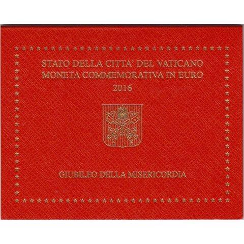 "2016. 2 Euros Vaticano ""Jubileo Misericordia"""