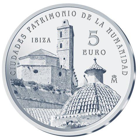 2015. Patrimonio Humanidad. Ibiza. 5 euros