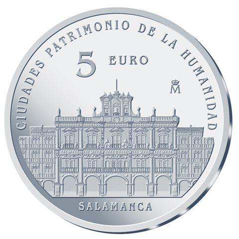 2015. Patrimonio Humanidad. Salamanca. 5 euros
