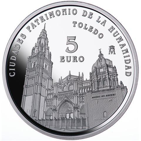 2015. Patrimonio Humanidad. Toledo. 5 euros