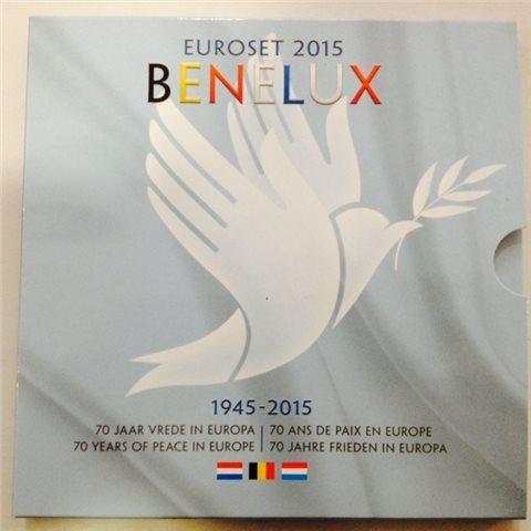 2015. Cartera euros Benelux