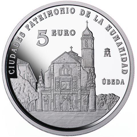 2015. Patrimonio Humanidad. Ubeda. 5 euros