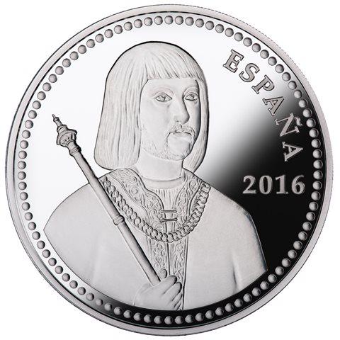 2016. V Centenario Fernando II. 10 euros