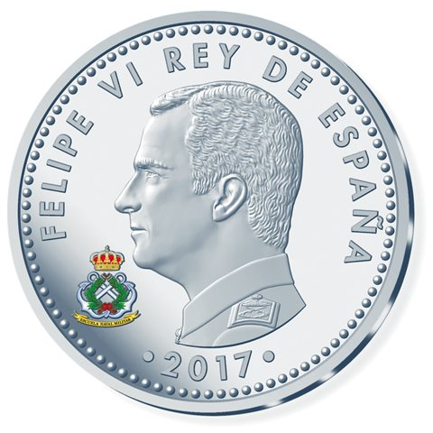 2017. 300 Aniv. Guardias Marinas. 10 euros