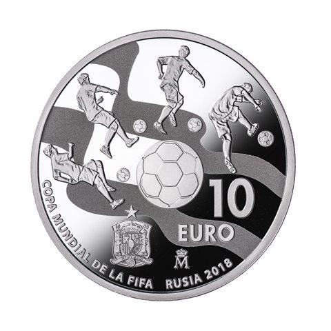 2017. Mundial FIFA Rusia 2018. 10 euros