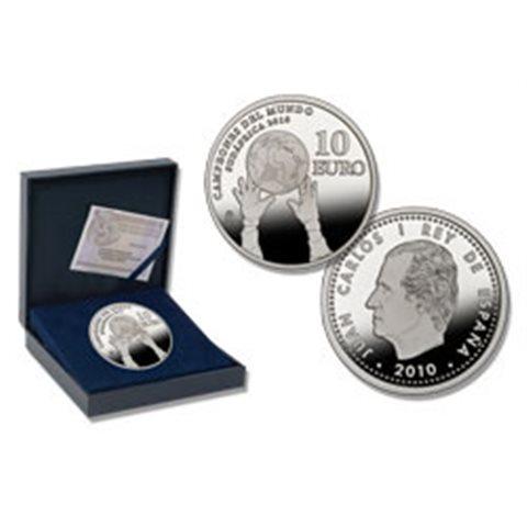 2010. Campeones del Mundo Sudáfrica 2010. 10 euros