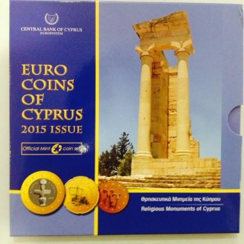 2015. Cartera euros Chipre