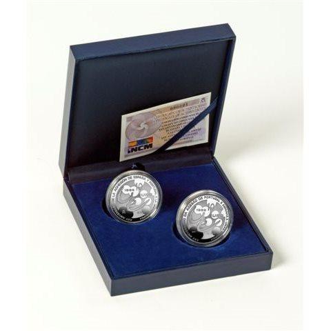 2011. XXV Aniversario adhesión España y Portugal a la UE. Emisión conjunta plata