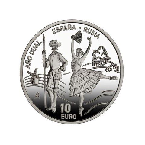 2011. Año dual España Rusia. 10 euros