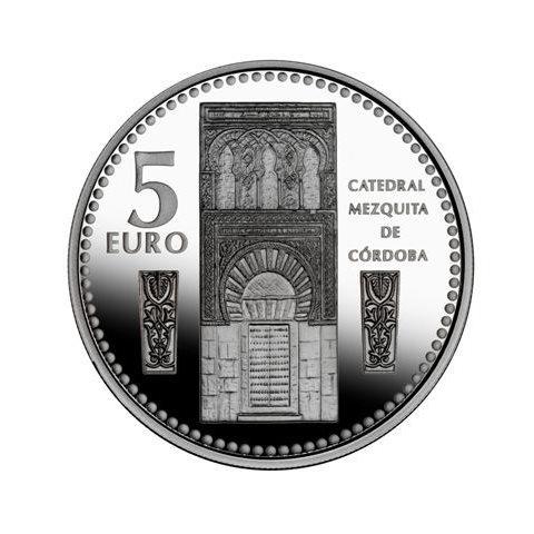 "2011. Capitales provincia. 5 euros ""Córdoba"""