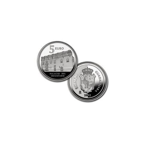 "2012. Capitales provincia. 5 euros ""Guadalajara"""