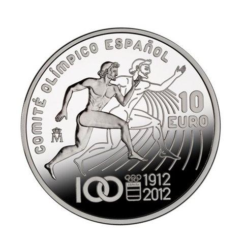 2012. Centenario del COE. 10 Euros